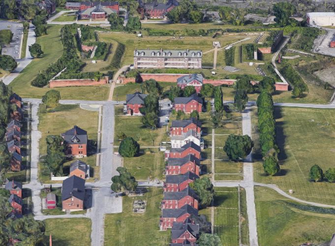 Fort Wayne Aerial View